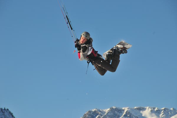 Deutsche Snowkite Meisterschaft.  Foto: flysurfer.de