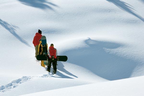 Powder pur in Mayrhofen.  Foto: Mayrhofen