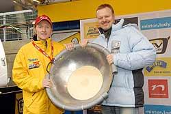 ewige Konkurrenten Joey Kelly und Stefan Raab. Foto: ProSieben