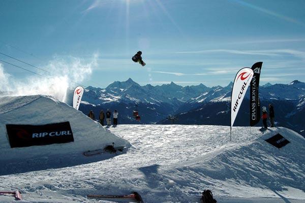Crans-Montana Champs Open 2008.  Foto: Arnaud Derib