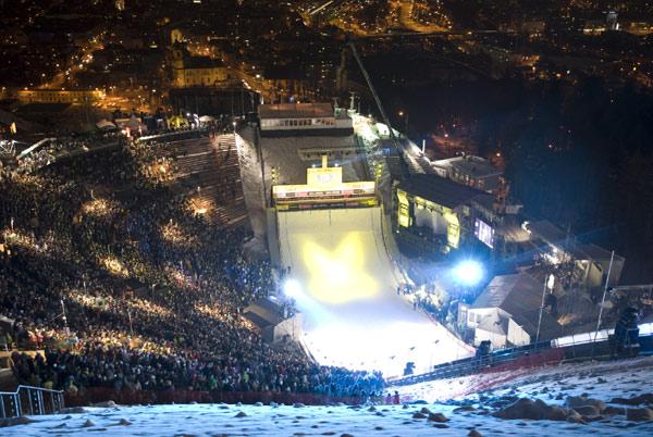 Bergisel Stadion in Innsbruck.  Foto: Air & Style