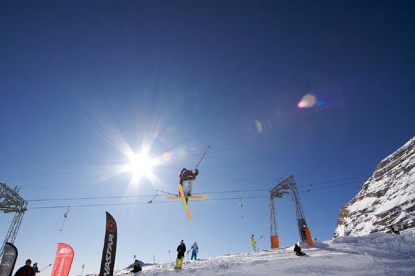 Ski Challenge 2009 in Garmisch.  Foto: Veranstalter