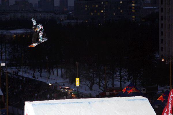 Thomas Franc in Moskau.  Foto: FIS - Oliver Kraus