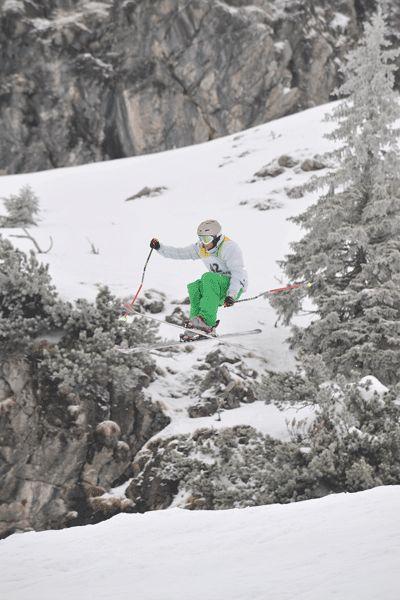 Skifahrer Bastian Daschner.  Foto: Veranstalter