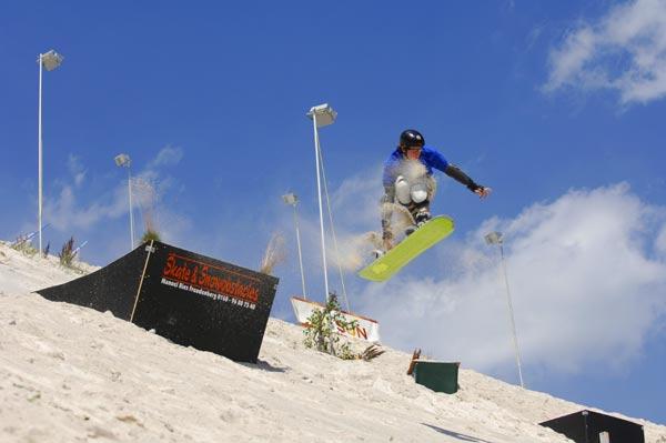 Sandboarding WM in Hirschau.  Foto: Veranstalter