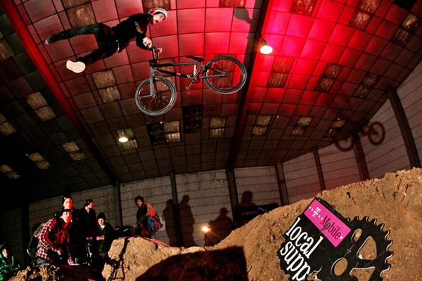 BMX Jump.  Foto: David Ulrich