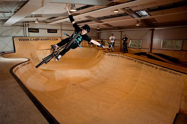 Bowl in Sondershausen.  Foto: Camp Ramps