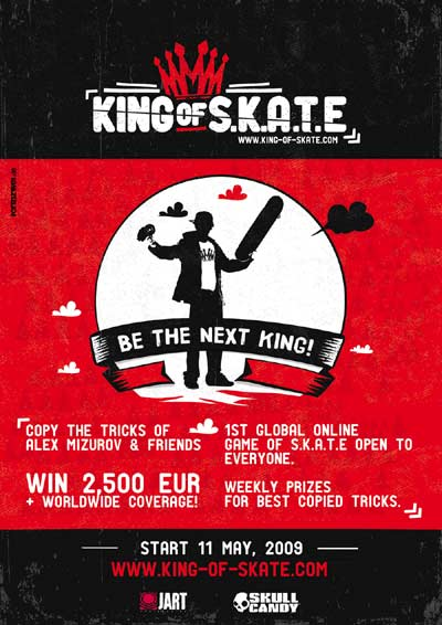 King of Skate Poster.  Copyright: www.king-of-skat.com