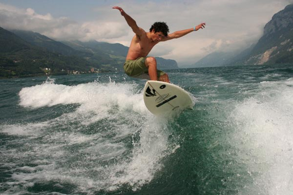 Wake Surf Fesitval.  Foto: Veranstalter
