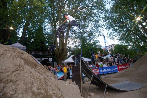 King of Dirt 2009 beim BIKE Festival Garda Trentino.  Foto: Veranstalter
