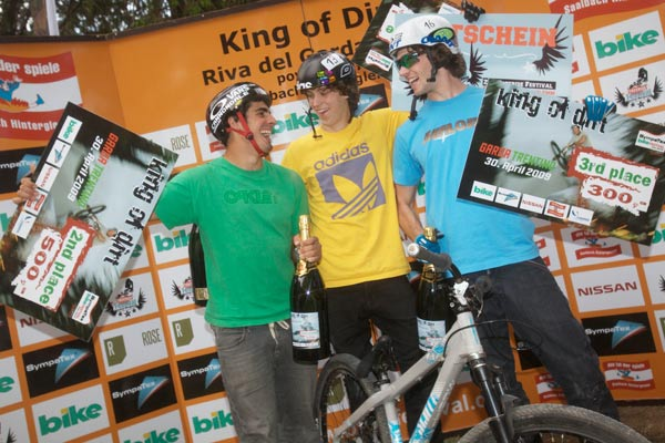 Die Gewinner des King of Dirt.  Foto: Veranstalter