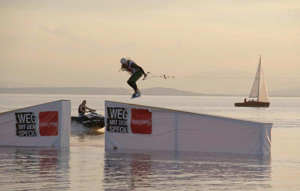 Wakeboard Challenge 2009.  Foto: Wakeboard AG