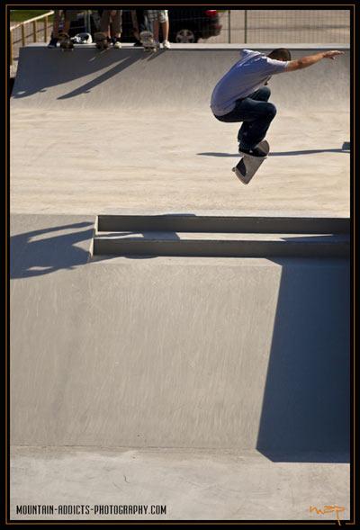 Tölzer Skatepark.  Foto: Flo Jäger