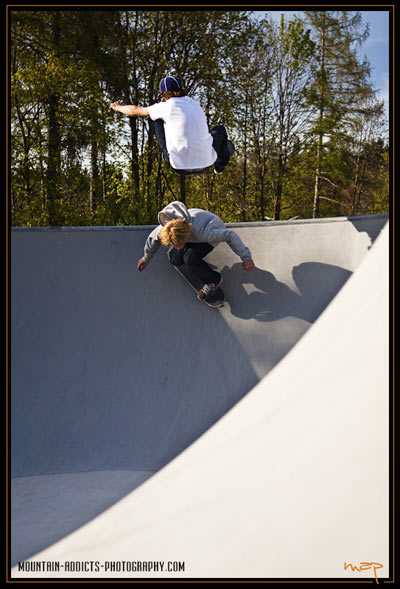 Skatepark Bad Tölz.  Foto: Flo Jäger