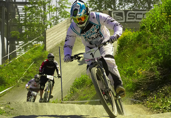 Fourcross beim Dirt Masters Festival in Winterberg.  Foto: Tim Dalhoff