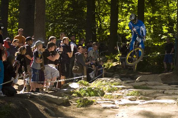 Downhill Seeding Run beim Dirt Masters Festival im Bikepark Winterberg.  Foto: Tim Dalhoff