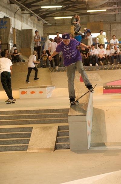 Yannick Schall.  Foto: Skatehalle Berlin