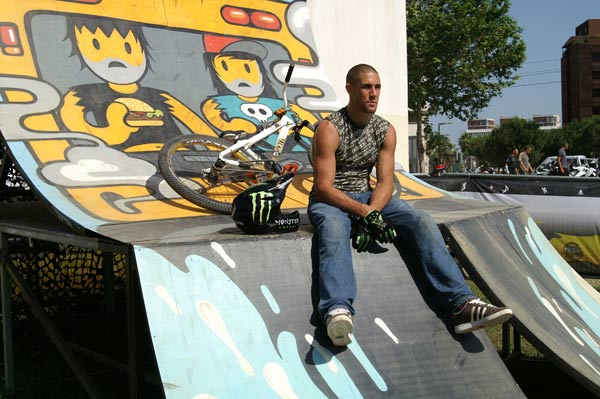 Lance McDermott in Montpellier, FISE 2009.  Foto: Marion Hellweg