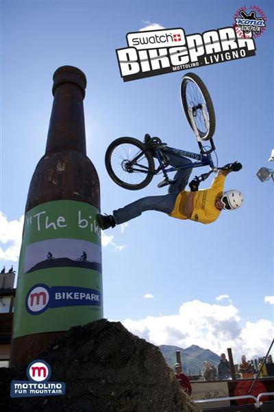Bikepark Livigno, Ronnie  Foto: Yorick Carroux
