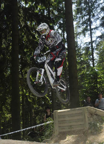 Picture Taken at: iXS German Downhill Cup Winterberg.  Foto: Shannon Maguire