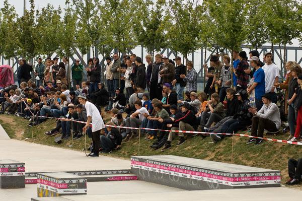 Duisburg Skate Crowed.  Foto: Rasmus Trunz