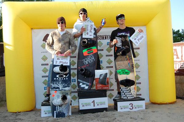 Wake Masters in Körkwitz: Die Sieger in der Kategorie Open Men.  Foto: Brand Guides