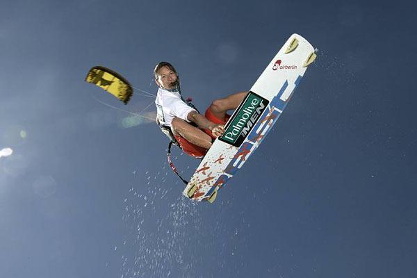 Kristin Boese, Kitesurf-Weltemeisterin aus Potsdam.  Foto: Kitesurf World Cup