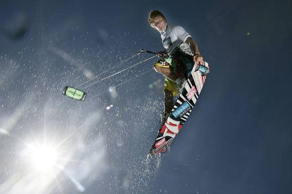 Rick Jensen.  Foto: Kitesurf World Cup