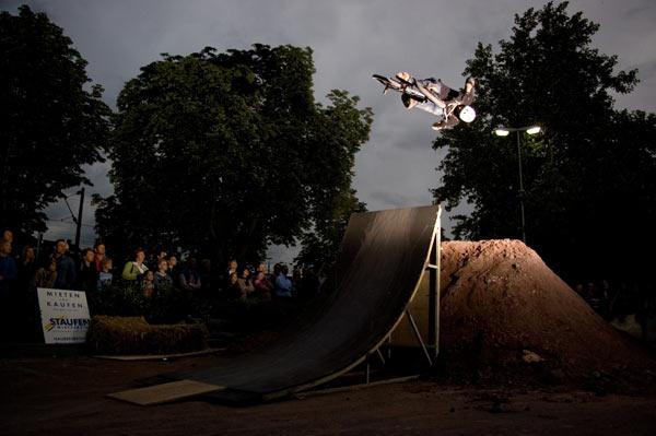 Dirtjump Contest in Schorndorf.  Foto: Jochen Strotzer