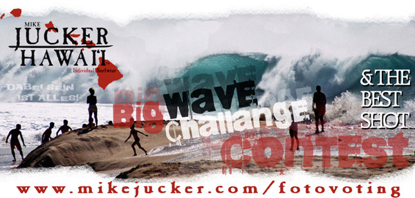 Mike Juckers Big Wave Contest.