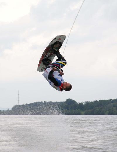Dominik Eder.  Foto: Austrian Wakeboard Cup