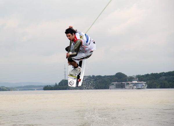 Thomas Wartenberg.  Foto: Austrian Wakeboard Cup