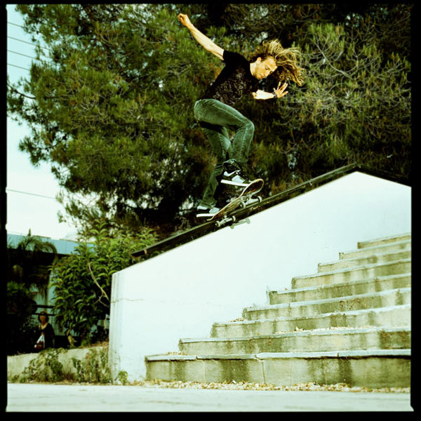 Mat Dubuy: BS Tail.  Foto: Jart Skateboards.