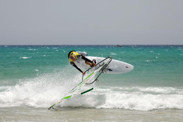 Andre Paskowski auf Fuerteventura.  Foto: Burghard Drews