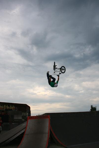 Funsporting-Teamrider Tino Schnecke.  Foto: Tino Schnecke