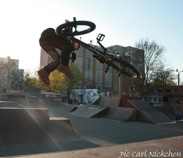 Funsporting-Teamrider Tino Schnecke.  Foto: Carl Nickchen