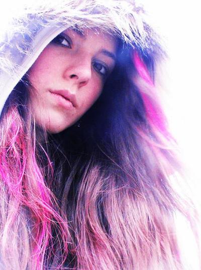 BMXerin Chantal Aust im Portrait.  Foto: chantal aust