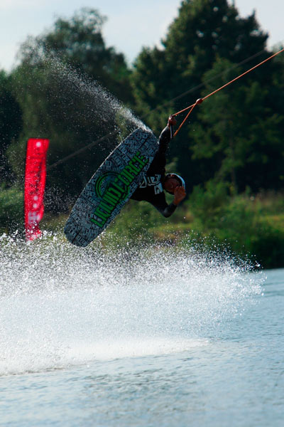 T-Mobile Local Support Wakeboard Challenge in Paderborn.  Foto: P. Beier