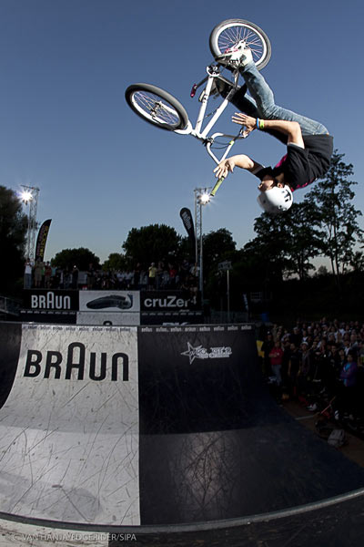 BMX Worlds Köln, Bret Bananawitcz.  Foto: Veranstalter