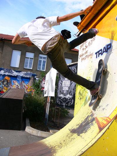 Skateboard Challenge 2009 Foto: Steinhaus