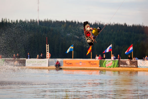 Cable Wakeboard EM in Finnland.  Foto: Veranstalter