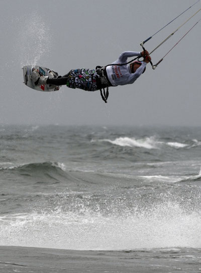 Finale Deutsche Meisterschaften Kitesurfen Foto: Veranstalter