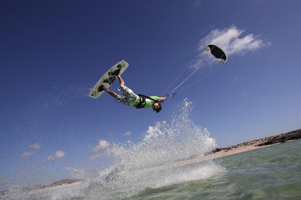 Kitesurf-Pro Mario Rodwald.  Foto: Mario Rodwald