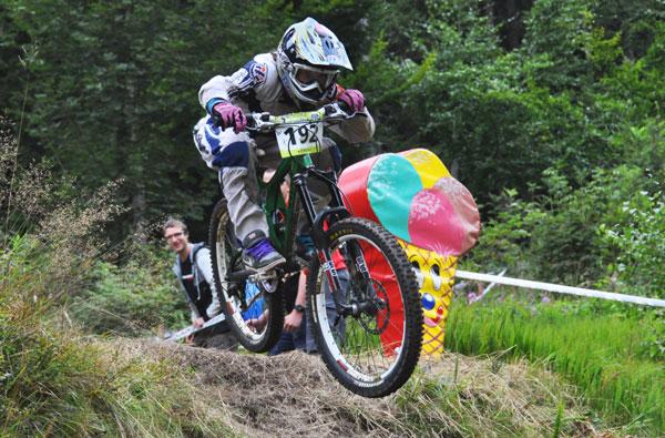 Philipp Wimmer beim Rookies Cup in Stenach.  Foto: Racement