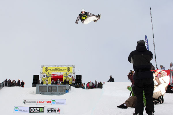 New Zealand Open 2009.  Foto: Burton