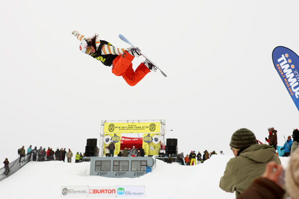 Burton New Zealand Open 2009 Foto: Phil Erickson