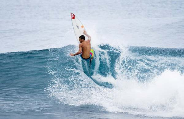 ISA World Surfing Games Narbe/Quiksilver