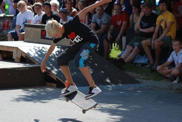 Bautzener Skateboard Challenge.  Foto: Dirk Gerhold
