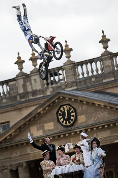 X-Fighters World Tourstopp in London.  Foto: Joerg Mitter