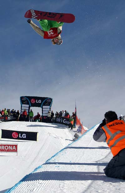 FIS Weltcup Cardrona.  Foto: FIS - Oliver Kraus